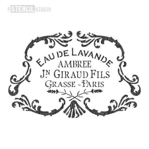 10647-A-EAU-DE-LAVANDE-VINTAGE-FRENCH-PERFUME-STENCIL_large