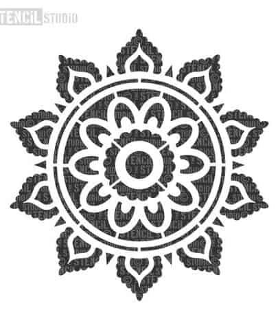 10693-A-SUNRAY-MANDALA-INDIAN-STENCIL-FROM-THE-STENCIL-STUDIO_large