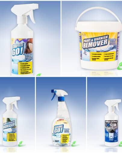ECO SOLUTIONS värvieemaldus ja puhastusained