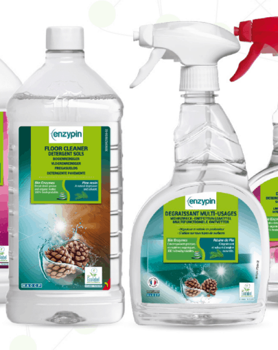 ENZYPIN bioaktiivsed puhastusvahendid