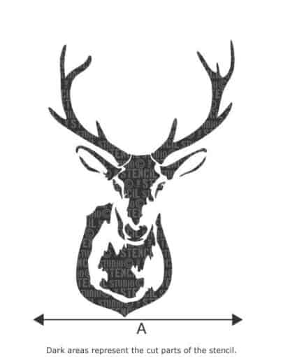 10323-Z_Stags_head_stencil