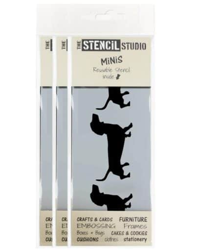 10614-M-DACHSHUND-MINI-STENCIL-BORDER-FROM-THE-STENCIL-STUDIO-X-3
