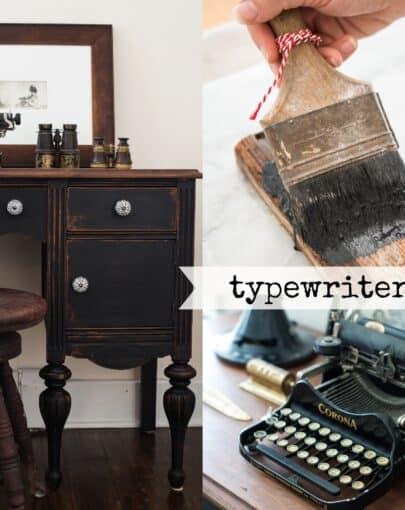 Typewriter-Collage